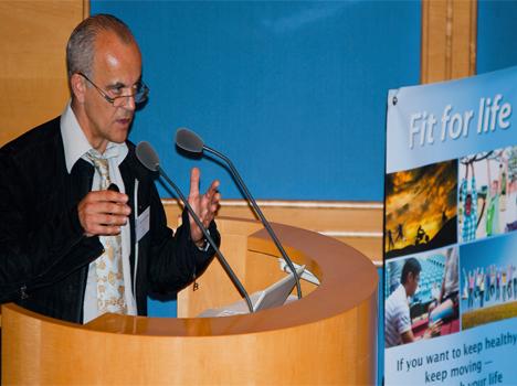Eric PASTOR, Président de la commission osthéopathie du CNOMK.