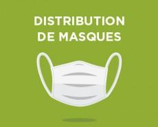 distribution de masque